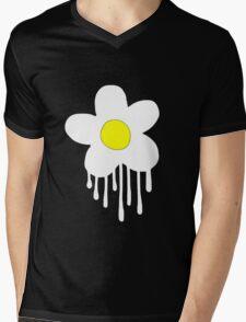 Dripping Daisy Mens V-Neck T-Shirt