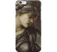 Edward Burne-Jones  - The Wheel Of Fortune 1883 . Burne-Jones  - people portrait. iPhone Case/Skin