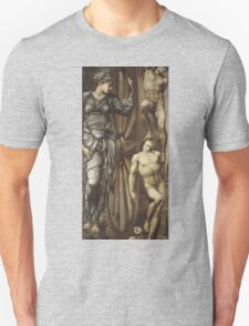 Edward Burne-Jones  - The Wheel Of Fortune 1883 . Burne-Jones  - people portrait. Unisex T-Shirt