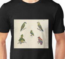 Naturgeschichte in Bildern mit erläuterndem Text E Strack 1820 Lief 2 Birds 040 Unisex T-Shirt