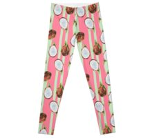 Pink Dragon Fruit Leggings