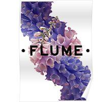flume skin - white Poster