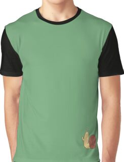 Adventure Time Snail - Small Graphic T-Shirt
