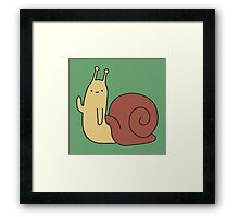 Adventure Time Snail - Small Framed Print