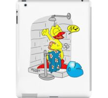 "Rick the chick ""SINGIN' IN THE SHOWER"" iPad Case/Skin"