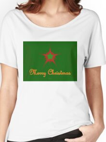 Merry Christmas II Women's Relaxed Fit T-Shirt