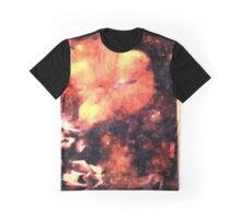 Flower on Fire Graphic T-Shirt
