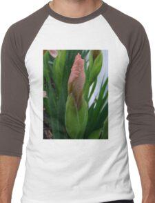 Pink Bud Men's Baseball ¾ T-Shirt