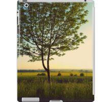 Green tree iPad Case/Skin