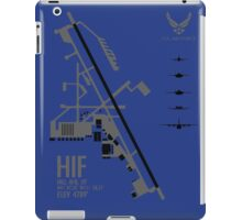Hill Air Force Base Airfield Diagram iPad Case/Skin