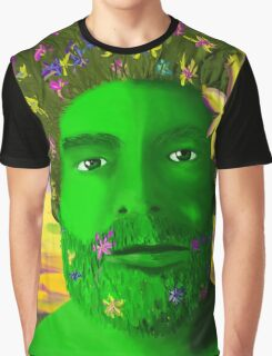 Greenman in Springtime Graphic T-Shirt
