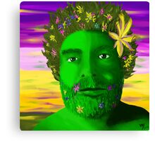 Greenman in Springtime Canvas Print