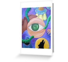 Nightmares - a painting Greeting Card