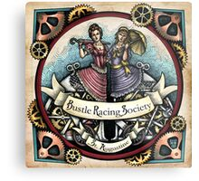 Bustle Racing Society by Bobbie Berendson W Metal Print