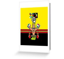 Rossi Come Vado Greeting Card