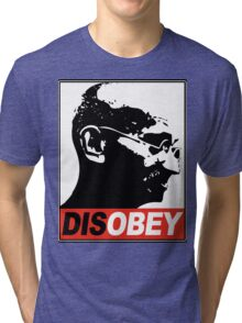 DISOBEY Tri-blend T-Shirt