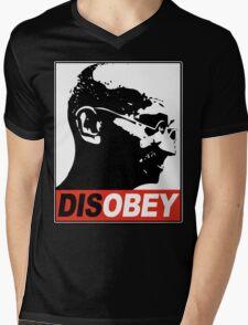 DISOBEY Mens V-Neck T-Shirt