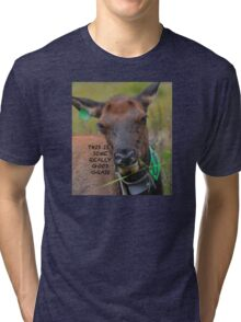 This is some Really Good Grass Tri-blend T-Shirt