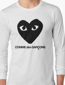 CDG Black Long Sleeve T-Shirt
