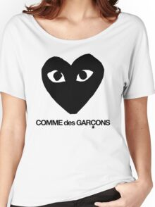 CDG Black Women's Relaxed Fit T-Shirt