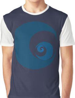 Golden Ratio Cutout Circles Graphic T-Shirt