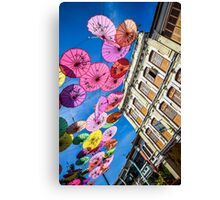 Colourful times in Penang Canvas Print