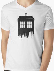 Ink Time Mens V-Neck T-Shirt
