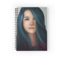Everything was Blue Spiral Notebook