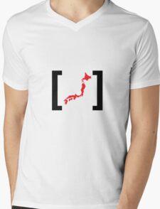 [Japan] Mens V-Neck T-Shirt