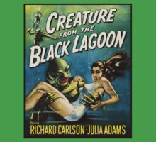 Creature From The Black Lagoon Baby Tee
