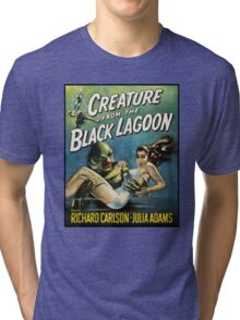 Creature From The Black Lagoon Tri-blend T-Shirt