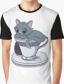 Mews! from the Teacup Collection Graphic T-Shirt