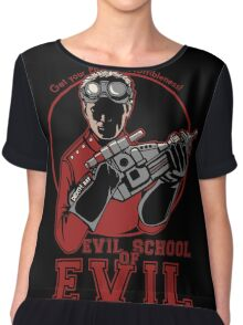 Dr. Horrible's Evil School of Evil Chiffon Top