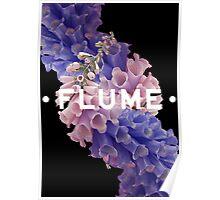 flume skin - black Poster