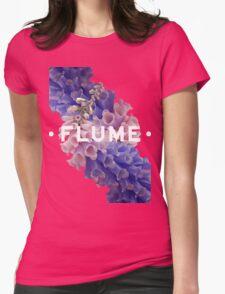 flume skin - black Womens Fitted T-Shirt