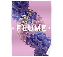 flume skin - purple Poster