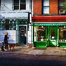 Soho Street Scene by Stuart Row
