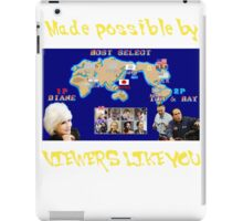 Viewers Like You: Championship Edition iPad Case/Skin