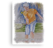 SPORTY - TENNIS ANYONE? Canvas Print