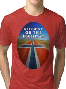 Norway or the Highway Tri-blend T-Shirt
