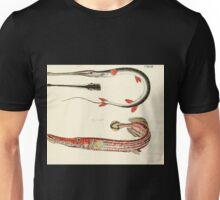 Naturgeschichte in Bildern mit erläuterndem Text E Strack 1820 Lief 4 Fish 133 Unisex T-Shirt