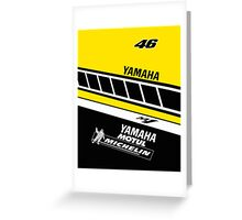 Rossi Laguna Seca Greeting Card