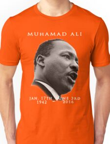 Rest in piece--MUHAMAD ALI (G.O.A.T.) GOD BLESS Unisex T-Shirt