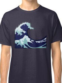 Water Wave Emoji Classic T-Shirt