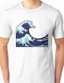 Water Wave Emoji Unisex T-Shirt