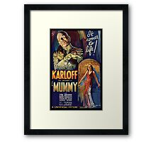 The Mummy Framed Print