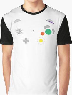 Gamecube Controller Buttons - Colour Graphic T-Shirt