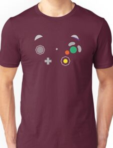 Gamecube Controller Buttons - Colour Unisex T-Shirt