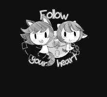 Follow Your Heart Zipped Hoodie