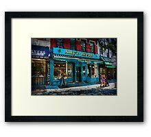 Hell's Kitchen Bakery Framed Print